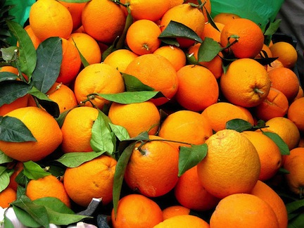Orange oil is a natural African botanical used in skin and hair care (www.africanepicure.com