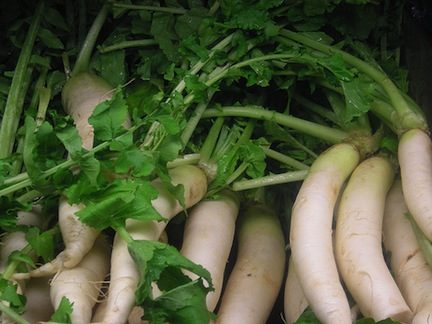 Vegetarian and other African radish recipes (www.africanepicure.com)